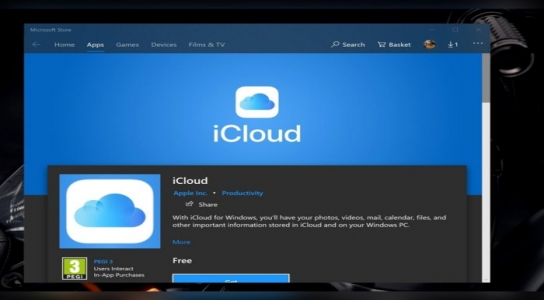 Use the new iCloud application for Windows 10